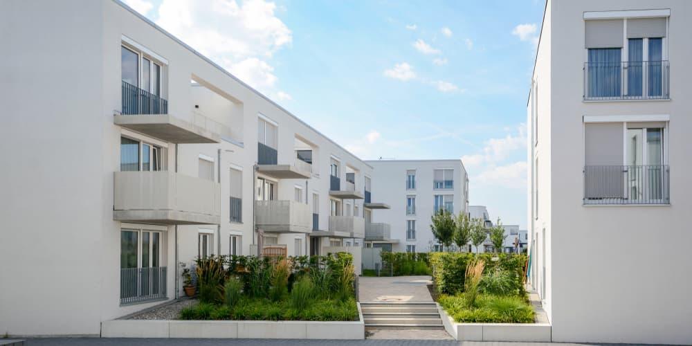 Ein Beispiel für ein Mietshaus beziehungsweise Zinshaus