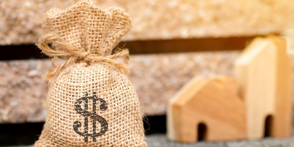 Ein Geldsack als Symbolbild, was ist ein Konstantdarlehen?